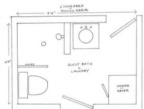bathroom floorplans two bathroom laundry ideas within the footprint of a small