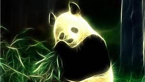 Neon Panda HD Wallpaper Wallpaper Studio 10 Tens of