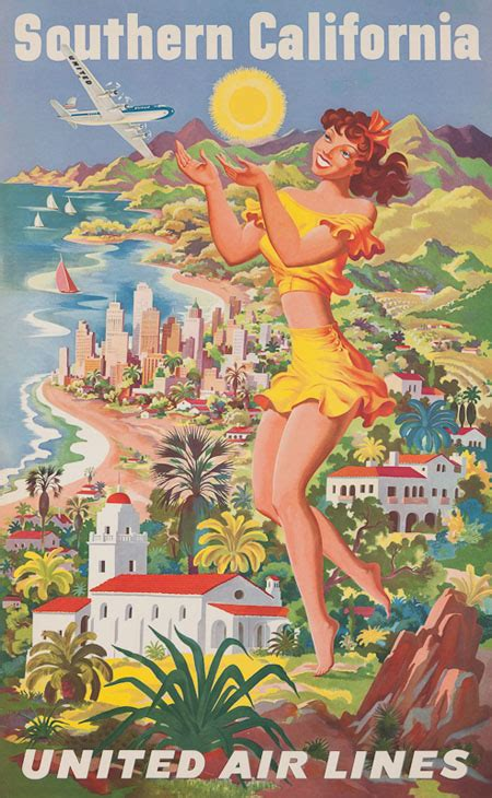 vintage posters  american airline companies