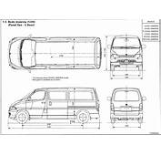 Toyota Hiace 1995 2001 Blueprint  Download Free