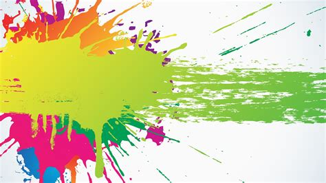 Hd Vector Image by Vector Ink Bright Colorful Dot Graphics Streaks Splashes