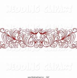 red wedding frames and borders wwwimgkidcom the With wedding invitation header design
