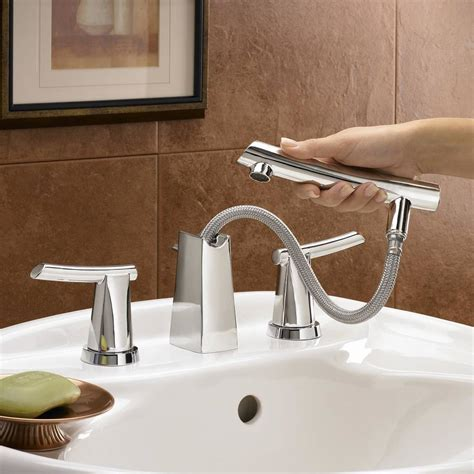 Bathroom Sink Sprayer by Green Tea 8 Inch Widespread Pull Out Bathroom Faucet