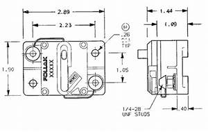 Pollak Circuit Breaker - 150 Amp - Surface Mount