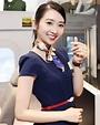 最美空姐 丨 2017香港視聽展「索尼空姐」黃靜藍 - 壹讀