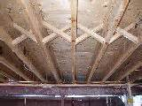 floor construction with cross bridging joist hangers i beam joist posts