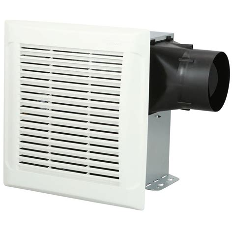 nutone 110 cfm exhaust fan nutone invent white 110 cfm ceiling single speed exhaust