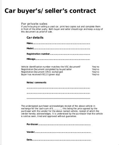 sample car service receipt  examples  word