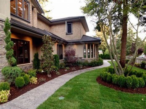 Image Of Modern Front Yard Landscaping Ideas Home