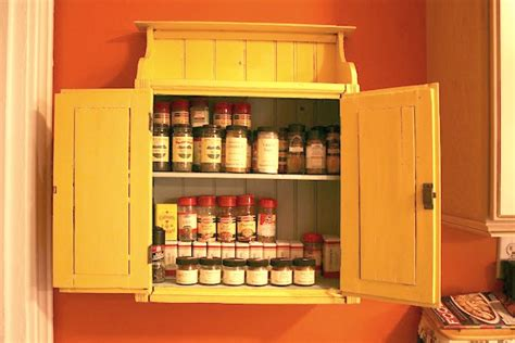 spice cabinet wall mount craftionary
