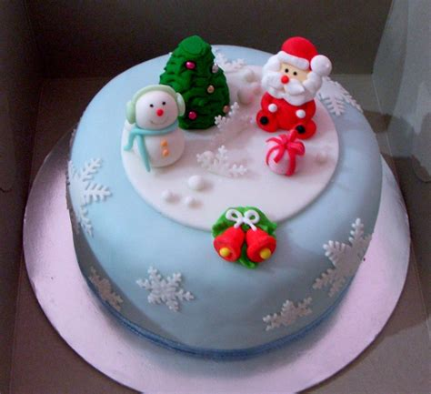 christmas cakes decoration ideas little birthday cakes
