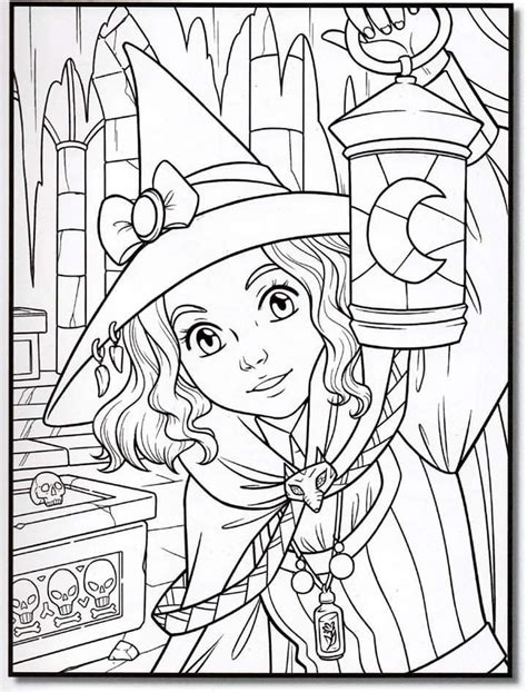 witch coloring halloweencoloringpages  images