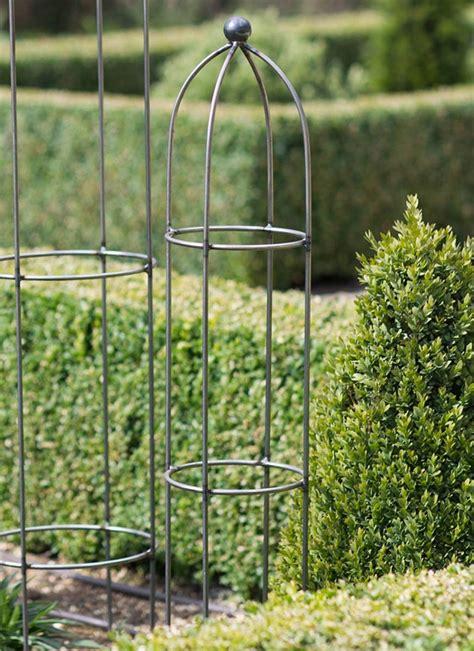 Barrington Obelisk Plant Support, Extra Small  Raw Metal