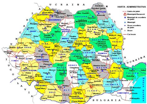 Harta Romaniei - Calculeaza ruta pe harta Romaniei - Harta rutiera a Romaniei - HartaEuropa