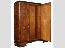 Antique Art Deco furniture set 1930s Italian bedroom