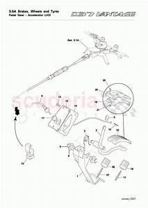 Aston Martin Db7 Vantage Pedal Gear