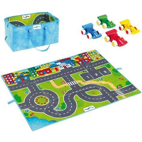 tapis de jeu pour petites voitures 1000 id 233 es sur le th 232 me stockage de voiture jouet sur rangements exposition