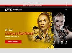 Watch UFC 222 On Kodi Cyborg vs Kunitskaya Live Streams