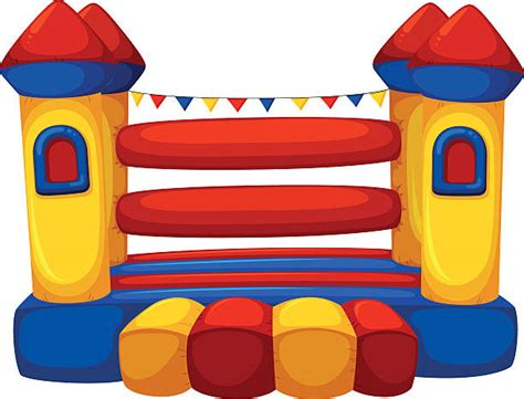 Bounce House Clip Art, Vector Images & Illustrations