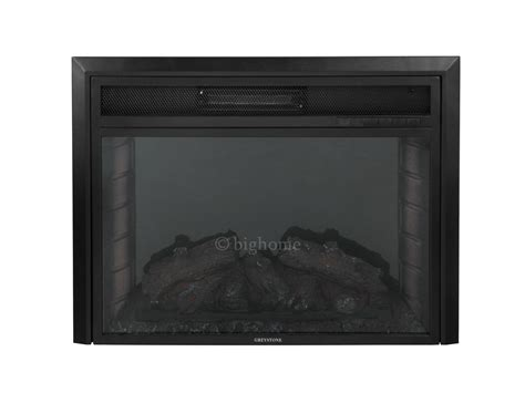 28 quot tempered glass electric fireplace heat freestanding
