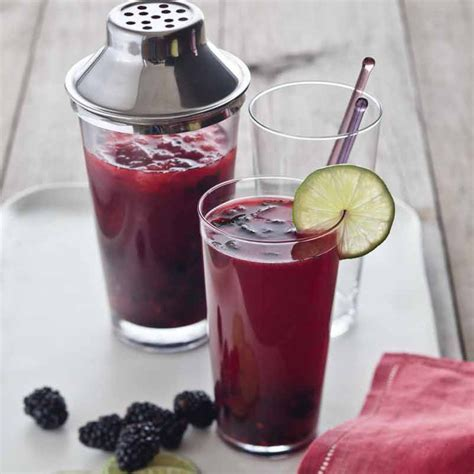 blackberry mojitos juice recipes blackberries mojito epicurious drink cocktail quentin bacon