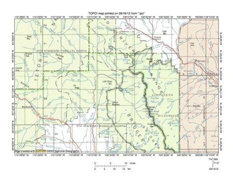 Wind River Indian Reservation Map