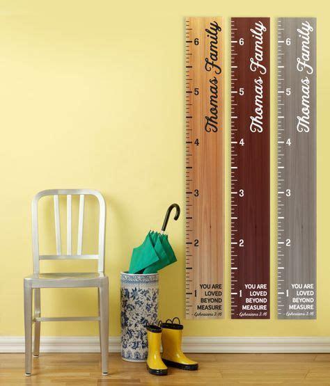 wooden growth chart ruler  marking  childs