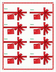 Christmas Gift Tag Templates For Word   Best Business Template