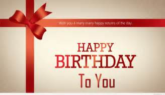 happy birthday wishes for the day