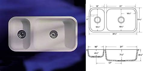 Dupont Corian Sink 872 by A American Countertops Sink Models