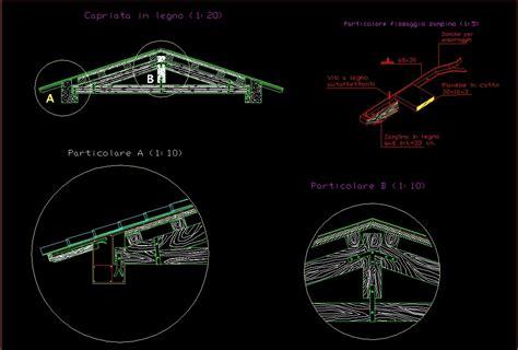 detail roof truss wooden roof truss dwg detail