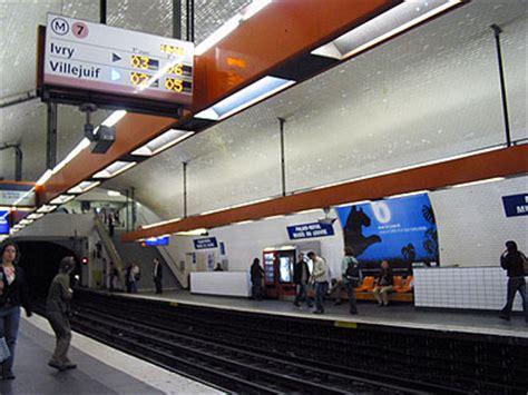 metro port royal ligne 7 m 233 tro de ligne 7