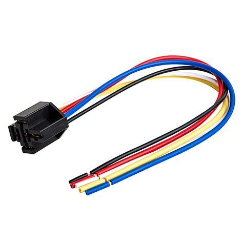 Pin Relay Socket Wire Harnesses Relays Switches