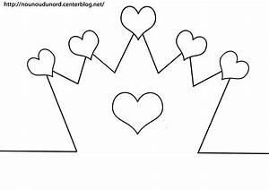Couronne En Papier à Imprimer : couronne coeur imprimer ~ Melissatoandfro.com Idées de Décoration