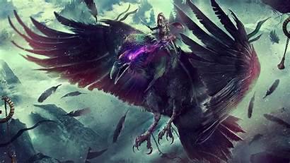 Warcraft 4k Fantasy Raven Wallpapers Resolution 1440p