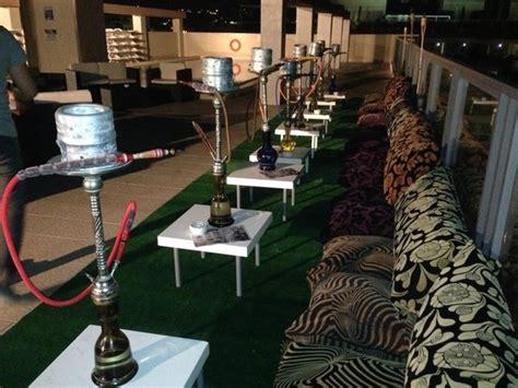 shisha rooftop bar picture  alexandra hotel malta