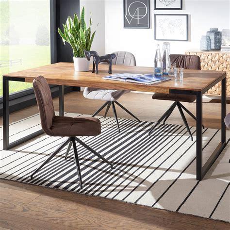 Esszimmer Le Großer Tisch finebuy esstisch sheesham holztisch esszimmertisch tisch