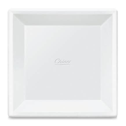 Viereckige Teller by White Square Plate Plate Vital Square Sc 1 St Ariane