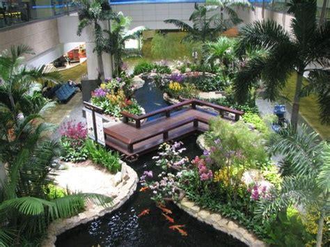 indoor garden zen japanese gardens designs inside room backyard rooms yard houses gardening pond indoors koi backyards landscaping waterfall decorating