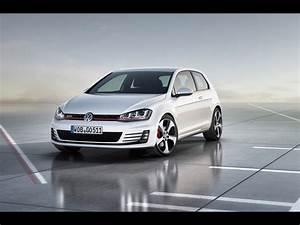 2012 Volkswagen Golf 7 GTI Konzept Static vorne
