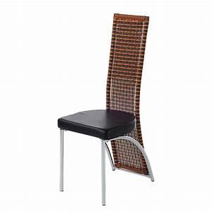 Stühle Esszimmer Schwarz : 2er set esszimmerstuhl korb schwarz braun hochlehner ~ Michelbontemps.com Haus und Dekorationen