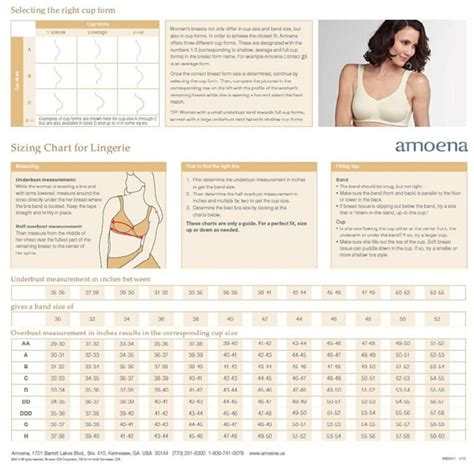 amoena breast forms size chart strapless mastectomy bra amoena barbara underwire 1077