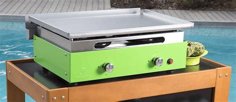 cuisiner la plancha gaz plancha gaz d 39 extérieur garantie de 5 à 20 ans verycook