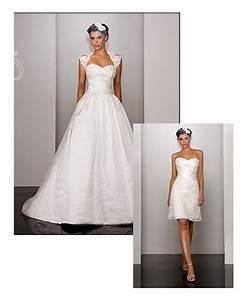 2 in 1 wedding dress weddingbee With 2 in 1 convertible wedding dresses