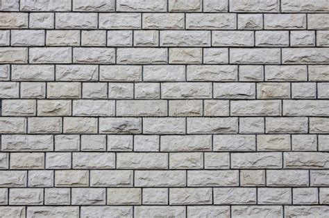 Gray Brick Background Stock Illustration. Illustration Of