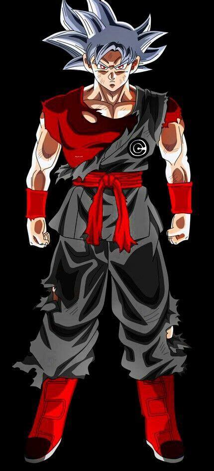 evil goku mastered ultra instinct kl dragon ball super