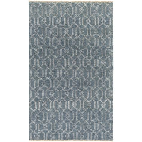 4163 patterned bath rugs artistic weavers arlen charcoal 8 ft x 10 ft indoor area