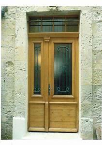 Porte D Entrée Tiercée : porte d 39 entr e tierc en bois ~ Carolinahurricanesstore.com Idées de Décoration