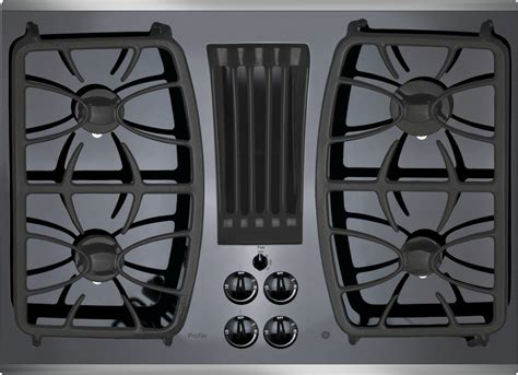 pgpsjss ge profile series  built  gas downdraft cooktop stainless steel