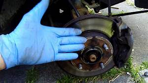 05 Ford Fiesta Replacing Disc Brake Pads And Frozen Brake